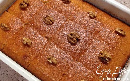 Рецепт Ревани-пирог из манки