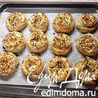 Булочки со шпинатом из теста фило (Ispanaklı Gül Böreği)
