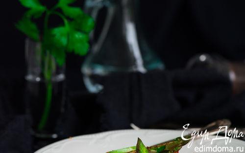 Рецепт Карпаччо из спаржи и клубники