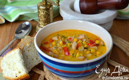 Рецепт Суккоташ - кукурузно-фасолевая похлебка