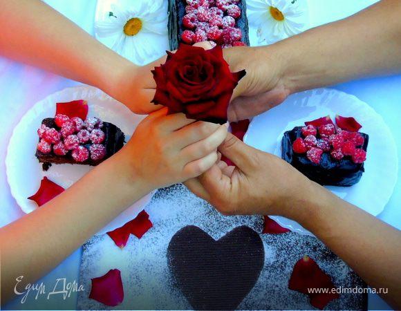 """Шоколадный кекс """"Малинка"""""""