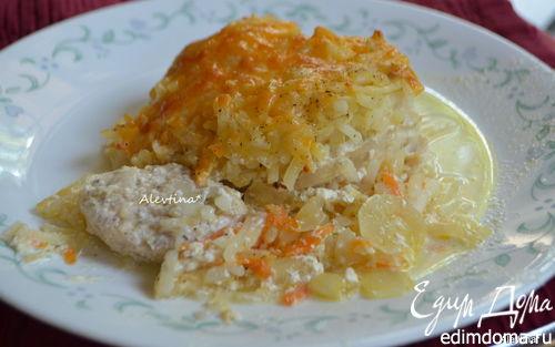 Рецепт Запеканка с картофелем и куриными грудками