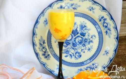 Рецепт Апельсиновый Eggnog (безалкогольный)