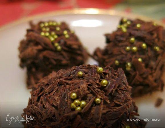 Трюфель в шоколадной стружке