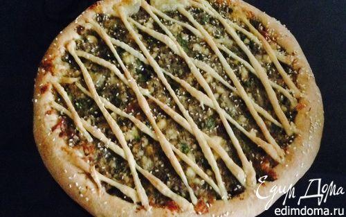 Рецепт Пирог с баклажанами и адыгейским сыром