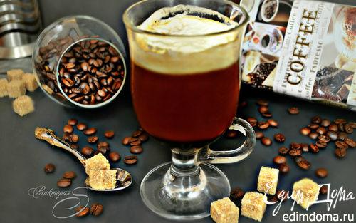 Рецепт Коктейль Ирландский кофе (Irish Coffee)