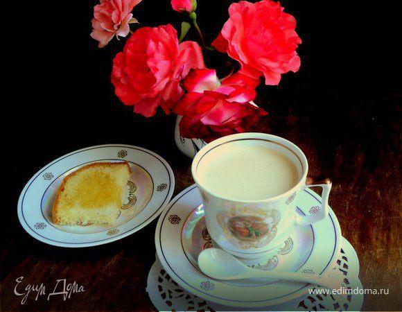 Пикантный кофе с сыром «Янтарь»