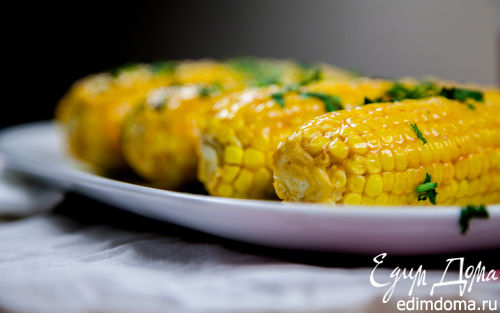 Рецепт Кукуруза на гриле по-мексикански