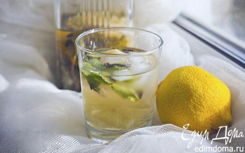 Рецепт Лимонад с мятой, лимоном и тимьяном