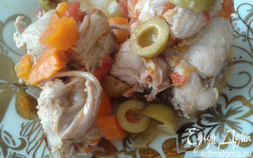 Рецепт Курица по-охотничьи