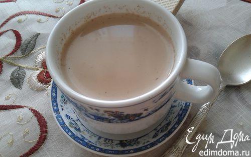 "Рецепт Кофе с молоком ""Корица-имбирь"""