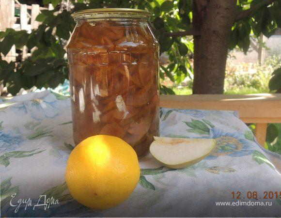 """Варенье из груш с лимоном """"Солнечная красавица"""""""