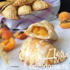 Песочные пирожки с персиками