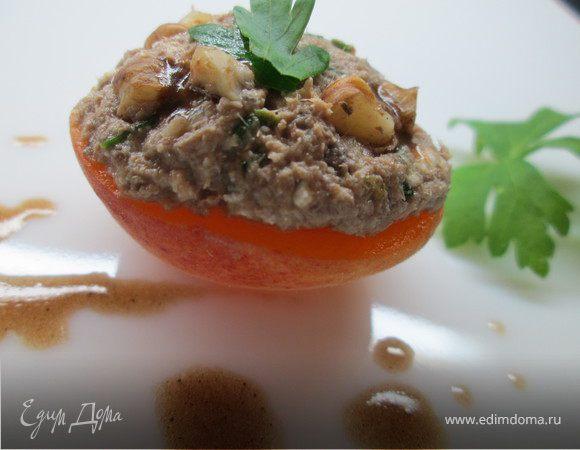 Мусс из тунца в абрикосах