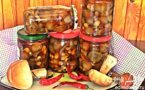 Рецепт Грибы в маринаде