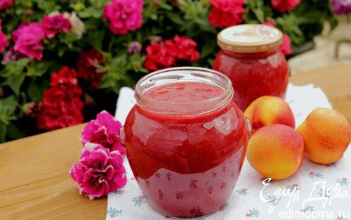 Рецепт Варенье из нектаринов и слив с ванилью