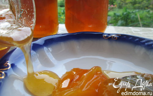 Рецепт Абрикосовое варенье с лимоном и коньяком