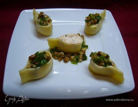 Закуска «Сырные «капельки» из двух видов сыра