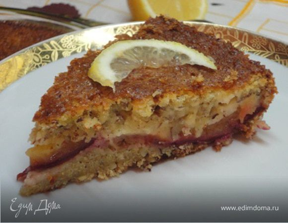 Английский сливовый пирог