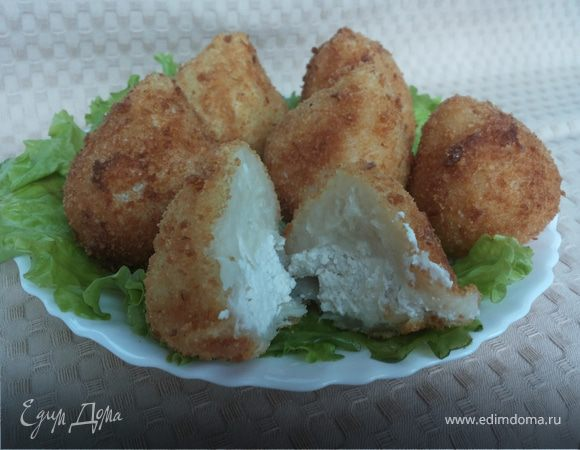 Картофельные крокеты с куриной начинкой