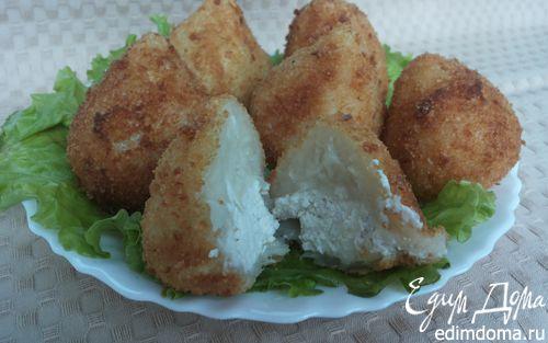 Рецепт Картофельные крокеты с куриной начинкой