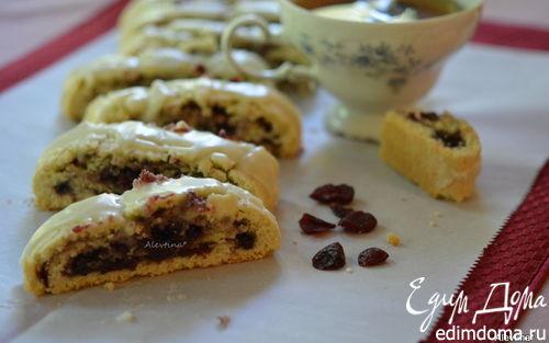 Рецепт Бискотти с клюквенным вкусом