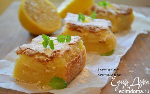 Рецепт Лимонные бары