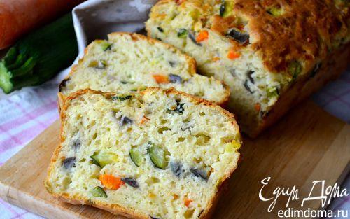 Рецепт Закусочный кекс с овощами