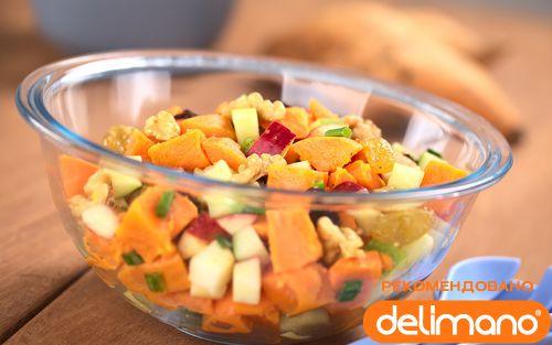 Рецепт Замечательный зимний салат