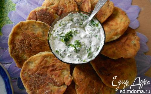 Рецепт Зеленые сырники