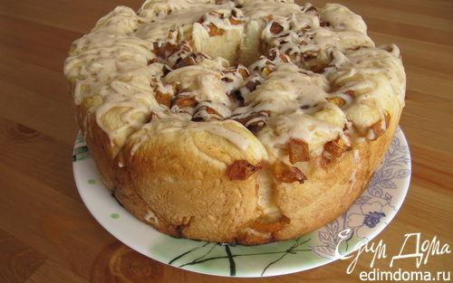 Рецепт Сдобный хлеб с персиком и карамелью
