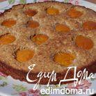 Миндальная коврижка с абрикосами