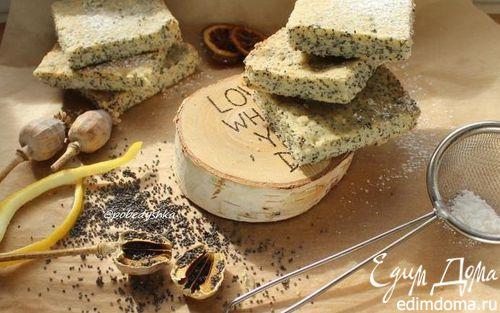 Рецепт Лимонно-маковое песочное печенье