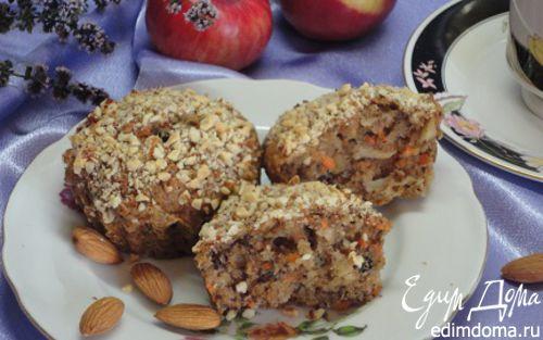 Рецепт Морковно-яблочные мафины