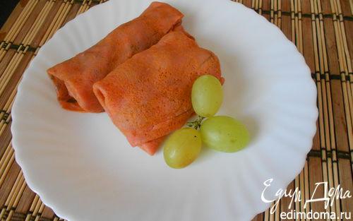 Рецепт Блинчики из арбузного сока