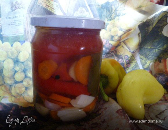 Маринованный болгарский перец