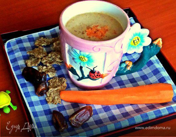Морковно-ореховый смузи