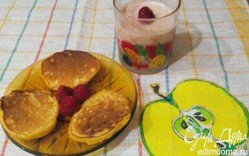 """Рецепт Смузи-десерт """"Завтрак за минутку"""""""