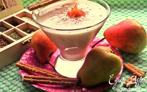 Рецепт Грушевый смузи с морковью