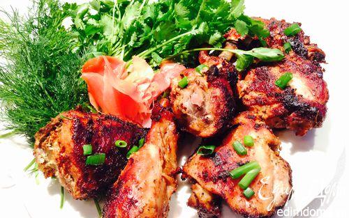 Рецепт Курица в соевом маринаде
