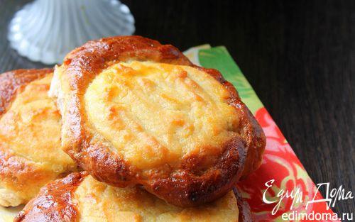 Рецепт Ватрушки с творогом на ореховом тесте