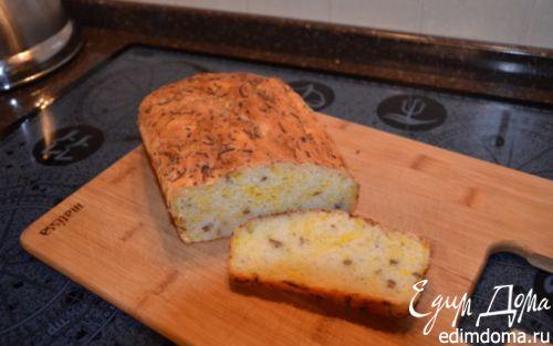Рецепт Оливковый хлеб с тыквой и семечками