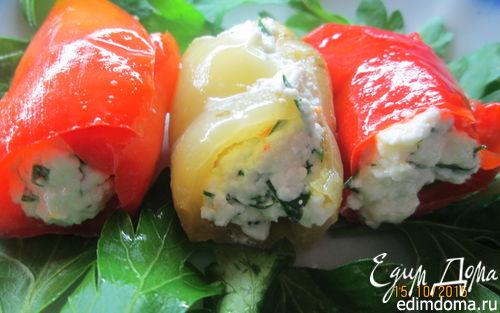 Рецепт Запеченные перцы по-средиземноморски