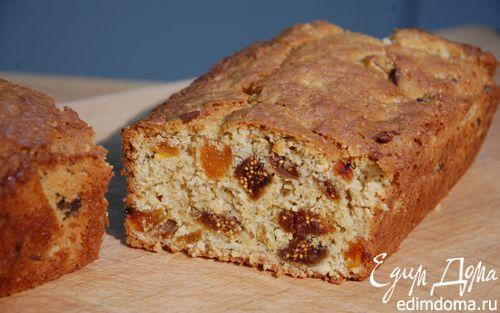 Рецепт Фруктовый хлеб с отрубями