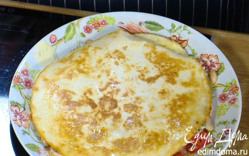 Рецепт Кесадилья с курицей и сыром