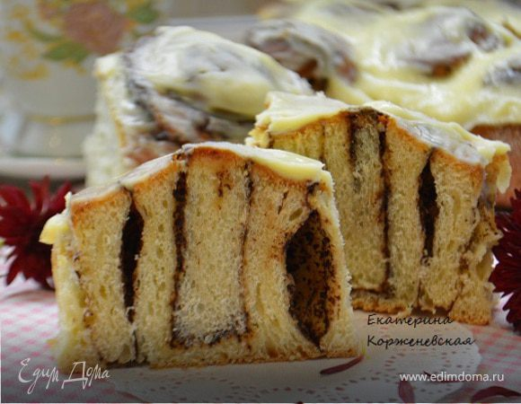 Булочки шокобоны (рецепт для хлебопечки)