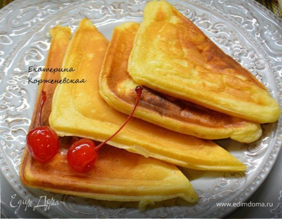 Сырники в сэндвичнице