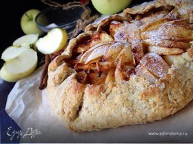 Овсяная галета с яблоками