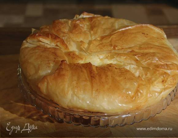 Пирог из теста фило рецепты