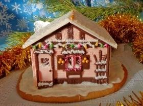 Шоколадно-пряничный домик